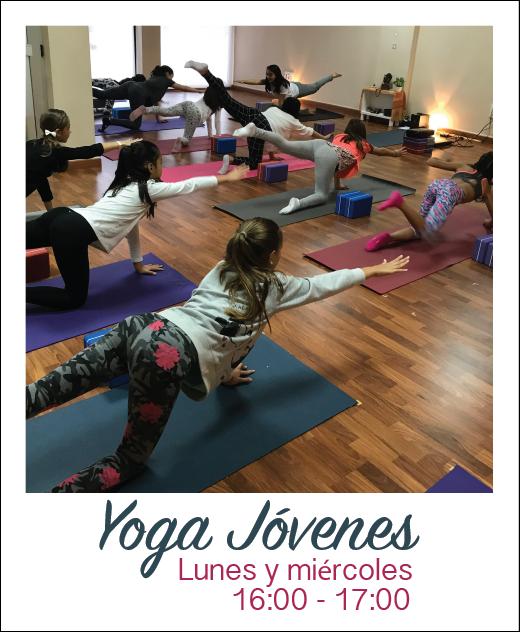 Yoga jovenes